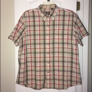 Timberland - Men's Plaid Button Down s/s